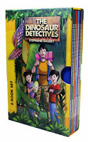 The Dinosaur Detectives Collection 6 Books Box Set-The Frozen Desert Cove