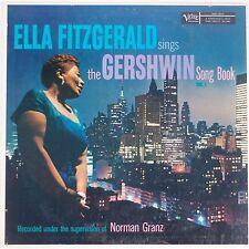 ELLA FITZGERALD: Sings Gershwin Song Book VERVE MONO Jazz NM- VINYL LP
