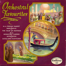 "Embassy Light Symphony Orchestra  Lionel Hale Orchestral Favourites UK 45 7"" EP"