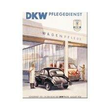 Nostalgic-Art - Magnet 8x6 Cm - AUDI DKW Pflegedienst