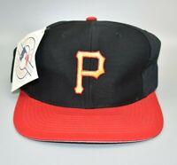 Pittsburgh Pirates MLB Vintage 90s Twins Enterprise Snapback Cap Hat - NWT