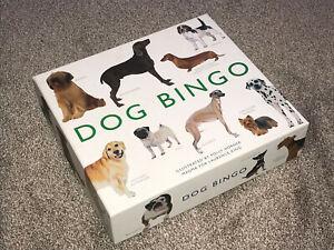 DOG BINGO : 2013 POLLY HORNER ILLUSTRATED GAME - IN VGC (FREE UK P&P)