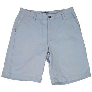 Nautica Light Blue Chino Bermuda Shorts - Mens W30