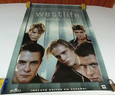WEST LIFE COAST TO COAST ORIGINAL POSTER SONY MUSIC COLOMBIA 2000