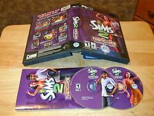 The Sims 2 Nightlife Expansion Pack PC 2 CD-ROMs 2005 EA Electronic Arts Windows