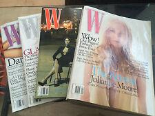 *SET OF 4* W Magazines - September-October-November-December 2005