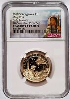 2019-S Sacagawea Native $1 Mary Ross PF 69 Ultra Cameo - Early Releases PORTRAIT