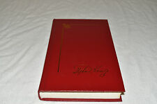 DOLORES CLAIBORNE Stephen King Library Collection 1993 HC Red Leather 1ST FINE!