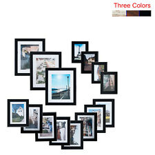 KARMAS Picture Frames Lot of 15 Wood Wall Hanging Art Photo Poster Home Decor