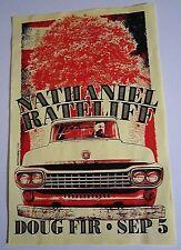 Nathaniel Ratelife 2015 Original Concert Show Flyer Poster