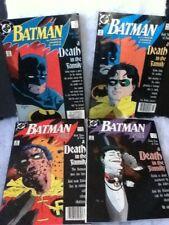 DC Batman a Death in the Family 1-4 1st Print NM
