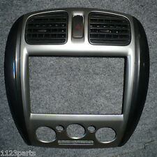 01 02 03 Mazda Protege Front Dash Radio Bezel Trim w Hazard Switch OEM