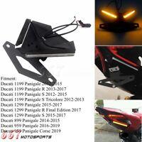 For Ducati Panigale Racer LED Fender Eliminator Kit 959 1199 1299 NRC Tail Light