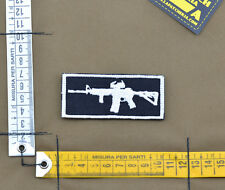 "Ricamata / Embroidered Patch ""M4 - Rifleman"" Black with VELCRO® brand hook"