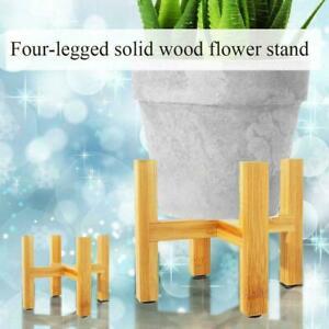 Garden Planter Holder Display Organiser Wooden Plant Shelf Pot Flower Rack S5V6