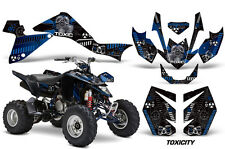 Suzuki LTZ 400 AMR Racing Graphic Kit Wrap Quad Decals ATV 2009-2012 TOXICITY B