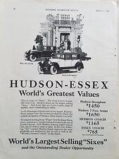 1926 Hudson Essex Coach Brougham Car Cars  Original Ad