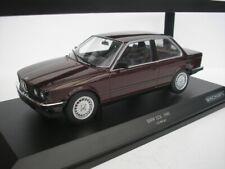 Minichamps 1/18 BMW 323i E30 1982 Rosso Metallizzato Modellino
