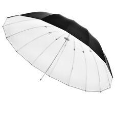 Walimex 17189 Ombrello riflettente nero/bianco cm.150 per flash