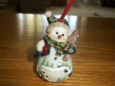 """Snowman, Tree, Candle Snuffer Resin Christmas Holiday 10"""" NEW"""