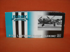 Hasegawa ® 51627 Lockheed P-38J Lightning D-Day Marking Limited Edition 1:72