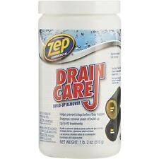 12 Pack Zep 18 Oz Crystal Enzymatic Drain Pipe Cleaner USDA Approved ZDC16