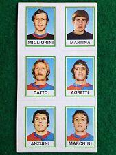 CALCIATORI 1974-75 74-1975 n 589 SAMBENEDETTESE 6 giocatori, Figurina Panini NEW