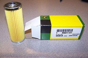 New John Deere Original OEM Fuel Filter was M801101 NOW MIU804763