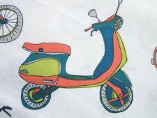 Velocity Scooter Bike Bicycle P & B Fabric Yard Jessica Hogarth SALE