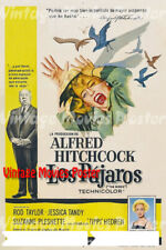 """ALFRED HITCHCOCK THE BIRDS #2 A4 GLOSS POSTER PRINT LAMINATED 10.3/""""x8.3/"""""""