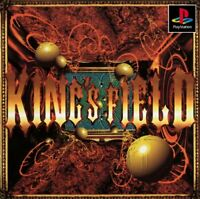 USED PS1 PlayStation1 Kings field 61013 JAPAN IMPORT
