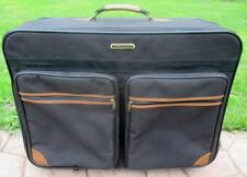 AMERICAN TOURISTER Large Rolling Suitcase  28 X 21 X 11  Black w/ Leather Trim