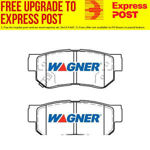 Wagner Brake Pad Set Rear DB1451WB fits Hyundai Tucson 2.0 (JM),2.7 AWD (JM)