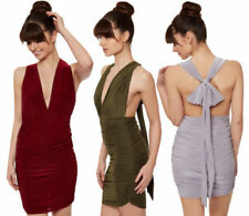 Halter Casual Stretch Dresses for Women