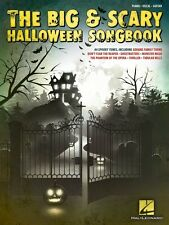 The Big & Scary Halloween Songbook Sheet Music Piano Vocal Guitar 000148012