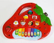 Jeunes enfants éducatif développement musical mobile sensoriel sound fraise piano
