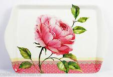 Rosa Corazón Floral Bonito pequeño bandeja NUEVO Snack Plato regalo cocina