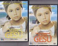 2 Dvd «UN BAMBINO DI NOME GESU'» con Alessandro Gassman nuovo completa 1987