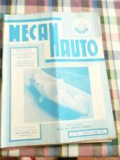 Revue mecanauto de 1957  N° 35   l etoile filante