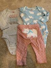 EUC Carters Baby Girl Set, 3month
