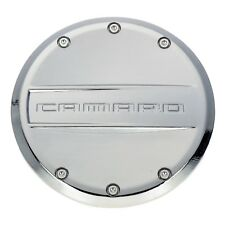 OEM NEW Fuel Tank Filler Gas Cover Chrome w/Camaro Logo 12-15 Chevrolet 22959850