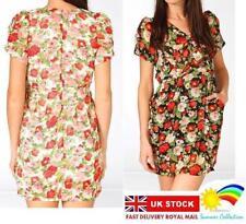 Petite Floral Tunic Dresses for Women