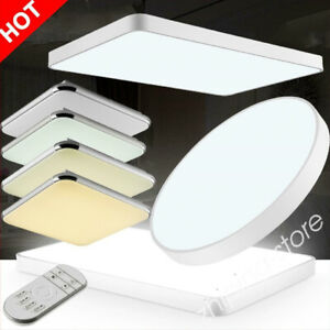 ⭐⭐Modern LED Ceiling Down Light Panel Square Round Wall Kitchen Bathroom Lamp ZE