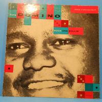 FATS DOMINO ROCK AND ROLLIN' VINYL  LP MONO 1956 RE '57 NICE CONDITION! VG/VG!!A