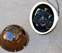 LOT of 5 Security Camera w Manual Iris EPD-250MW White Shell Pendant Mount BO