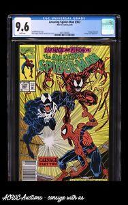 Marvel Comics - Amazing Spider-Man #362 - 2nd Carnage (Newsstand) - CGC 9.6 NM+