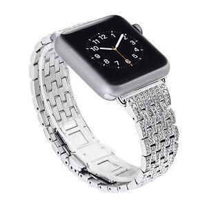 Arktis Diamonds Armband Apple Watch Series: 7 6 SE 5 4 3 2 1 Ersatzarmband