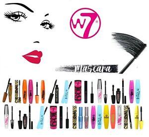 W7 Mascara Makeup Lengthening Volumising Darken Thicken Define Eyelashes