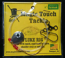 Magic Touch Tackle No.540 FLUKE RIG with SPINNER - Weakfish - Flounder