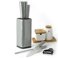 Stainless Steel Knife Holder Big Capacity Universal Kitchen Knife Stand Holder